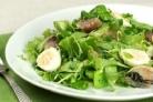 Салат из рыбы и яиц