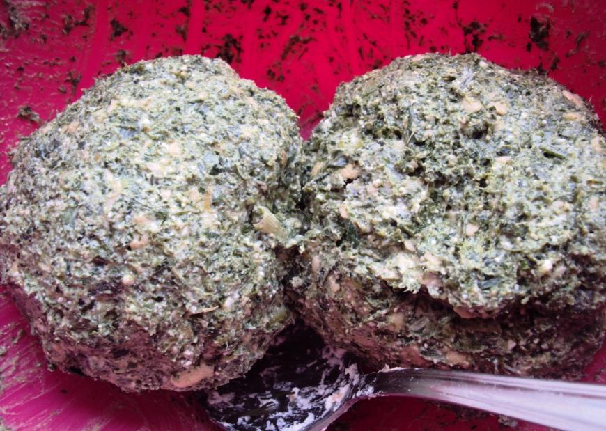 Рецепт Осетинский пирог с сыром и зеленью