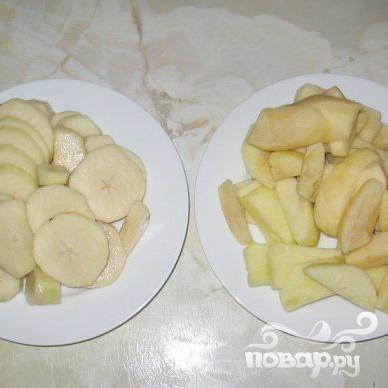 Детское питание из яблок и груш - фото шаг 1