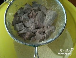 Печень по-албански - фото шаг 5