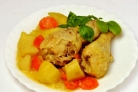 Курица с овощами на пару в мультиварке