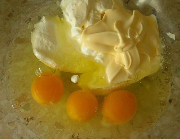 Капустный пирог на молоке - фото шаг 3