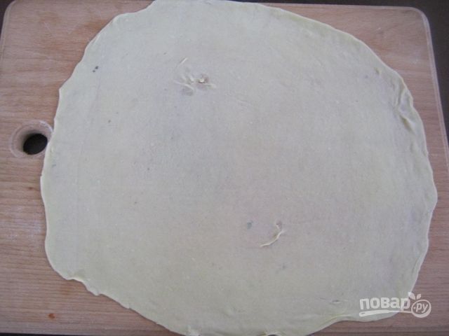 Турецкая лепешка гезлеме - фото шаг 6