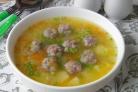 Гороховый суп с фаршем