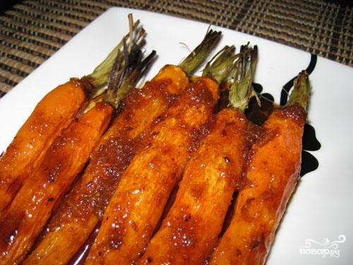 Морковь с сахаром