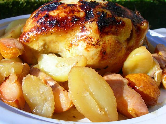 Курица с айвой - фото шаг 6
