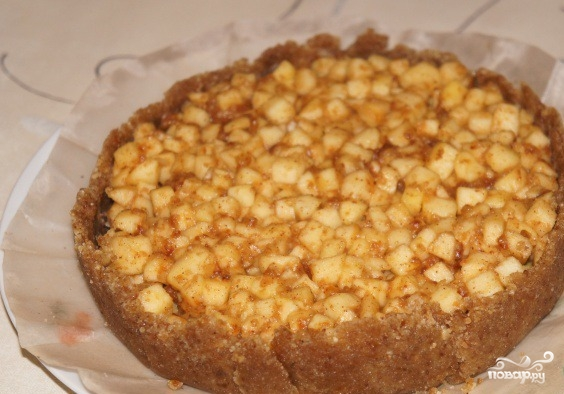 Яблочный десерт - фото шаг 7