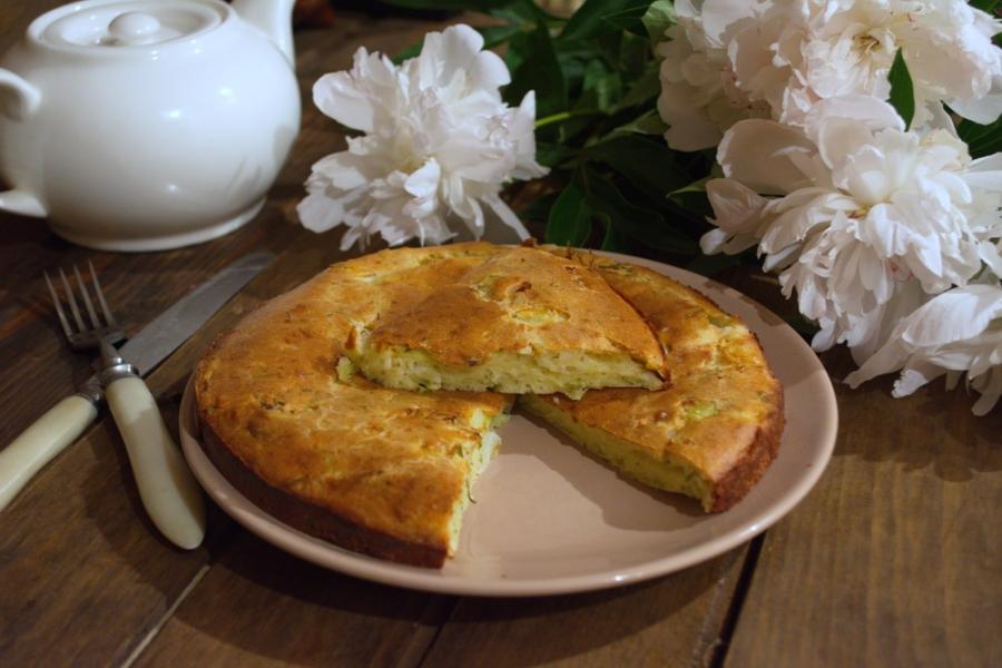 Капустный пирог жидкое тесто