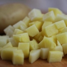 Рецепт Летний суп-пюре из картофеля и цукини