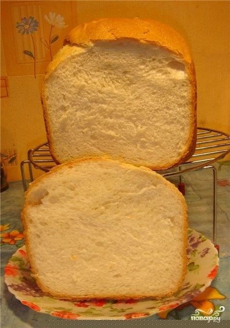 Хлеб на кефире в хлебопечке - фото шаг 3