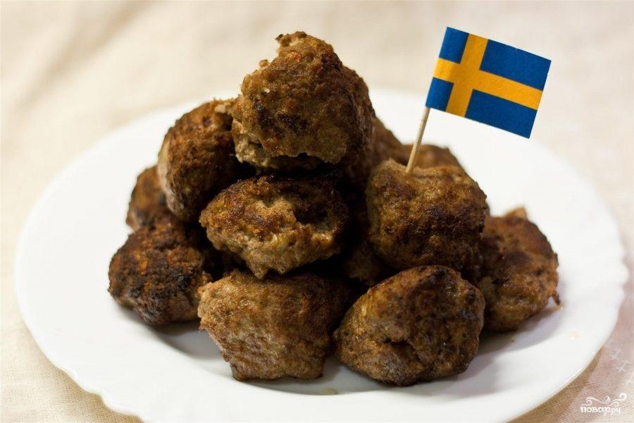 Рецепт Шведские фрикадельки 2