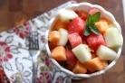 Салат из дыни и арбуза