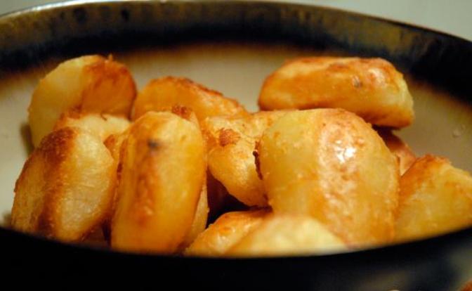 Картошка кусочками в духовке - фото шаг 6