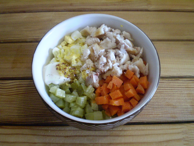 Салат к рису - фото шаг 6