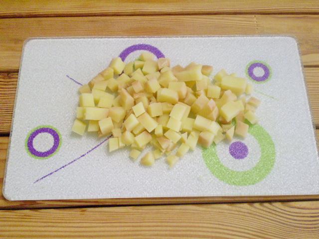 Салат к рождеству - фото шаг 2
