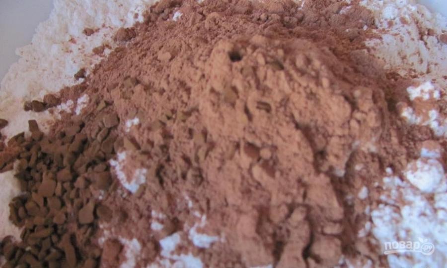 Шоколадное печенье без яиц - фото шаг 1
