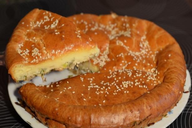 Ленивый капустный пирог - фото шаг 13