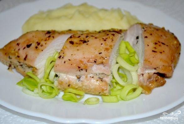 Пирог с картошкой и куриным филе рецепт