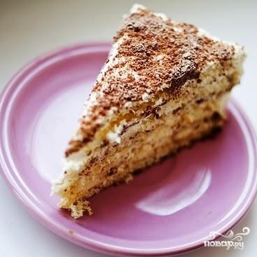 "Торт ""Молочная девочка"" - фото шаг 7"