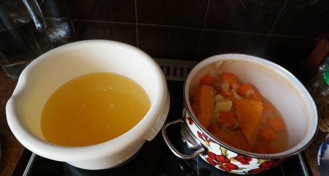 Курино-тыквенный суп - фото шаг 4