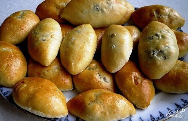 Рецепт Пирожки с картошкой и опятами