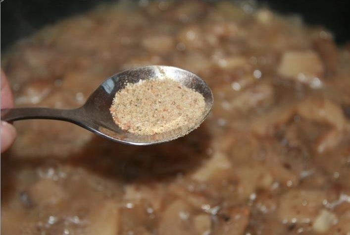 Салат из кальмаров и шампиньонов - фото шаг 6