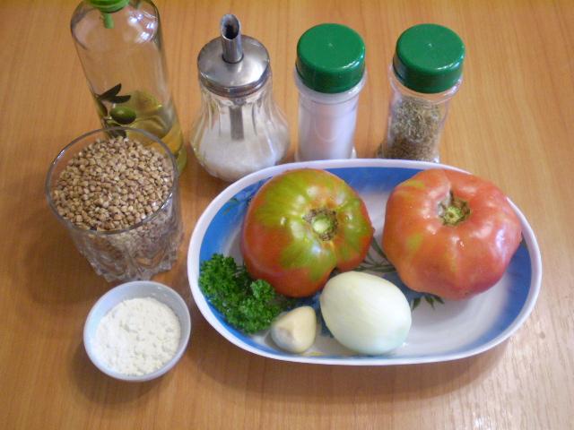 Рецепт Гречка под соусом