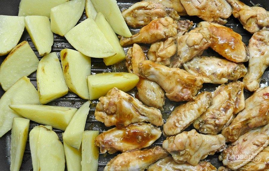 курица с соусом терияки в духовке рецепт