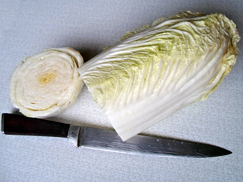 Голубцы из китайской капусты - фото шаг 1