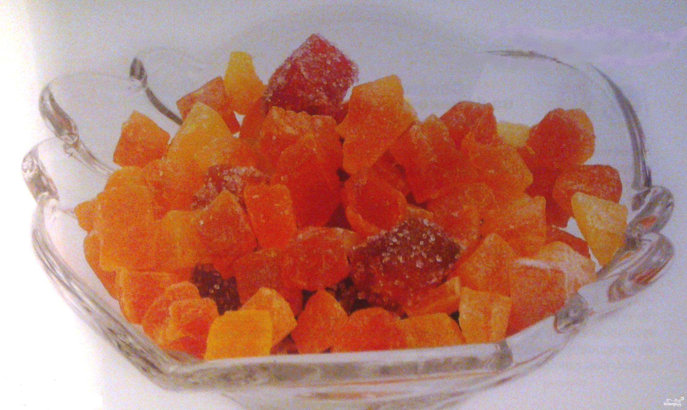 Рецепт Цукаты из моркови