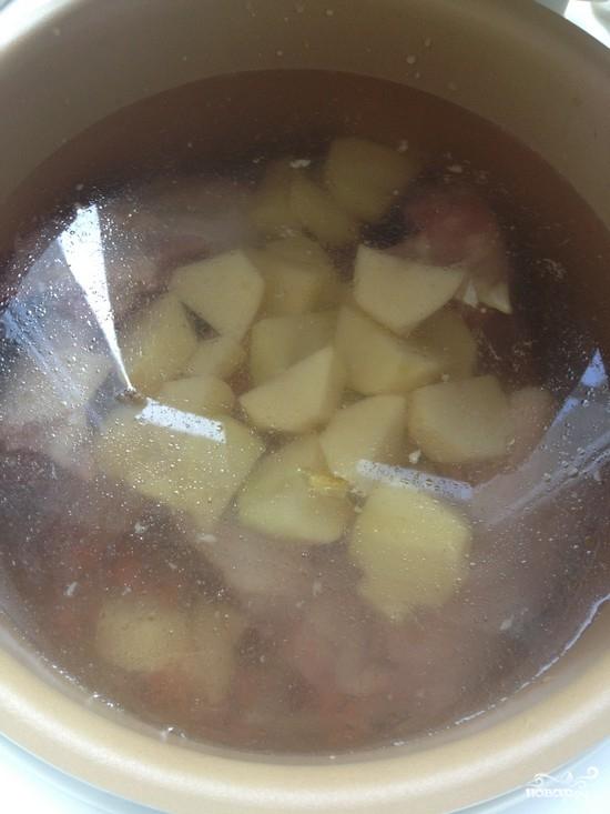 Щавелевый суп без яиц - фото шаг 6