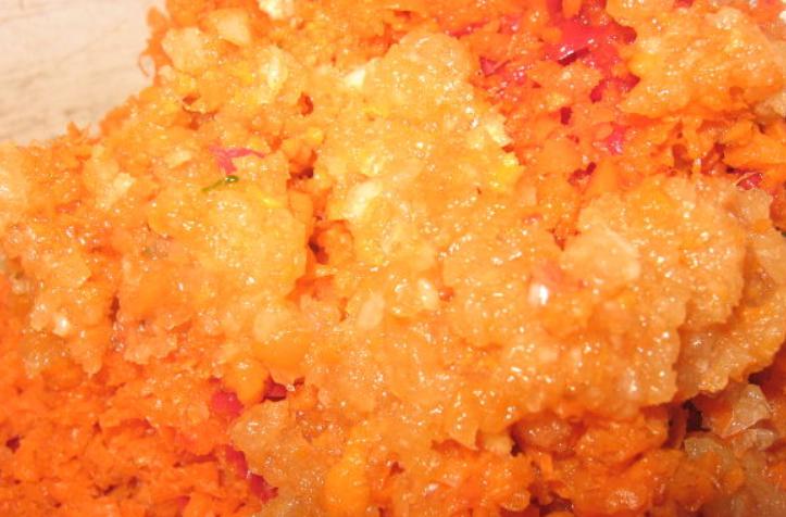 Аджика из кабачков с яблоками - фото шаг 5