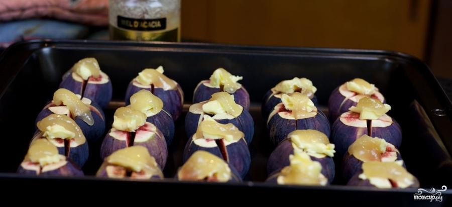 Рецепт Запеченный инжир