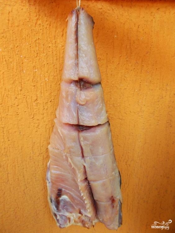 Балык из рыбы - фото шаг 5