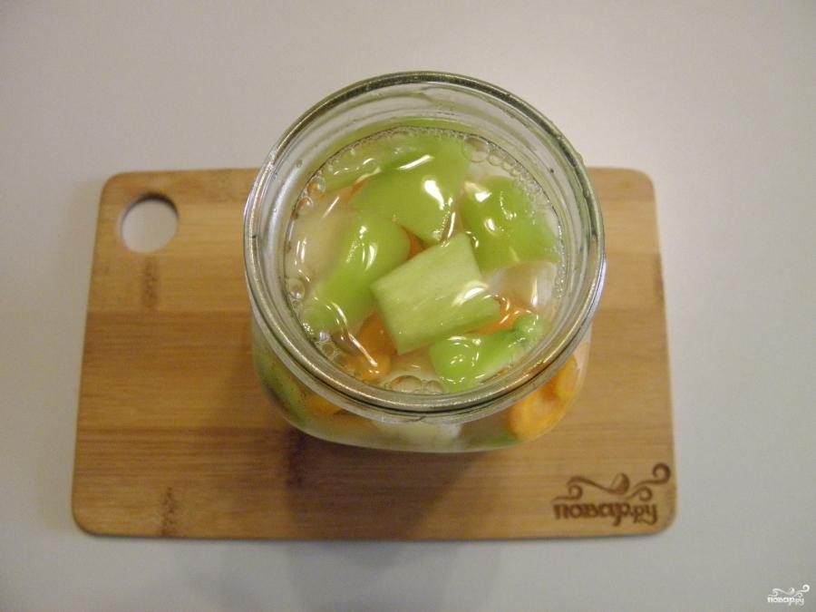 Закатка цветной капусты - фото шаг 5