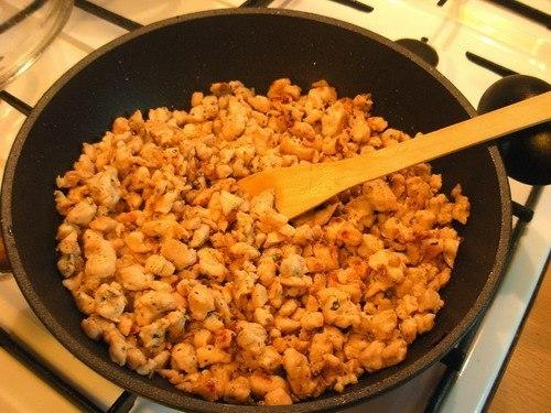 Рецепт Помидоры, фаршированные курицей