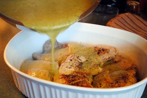 Филе курицы в сметанном соусе - фото шаг 3