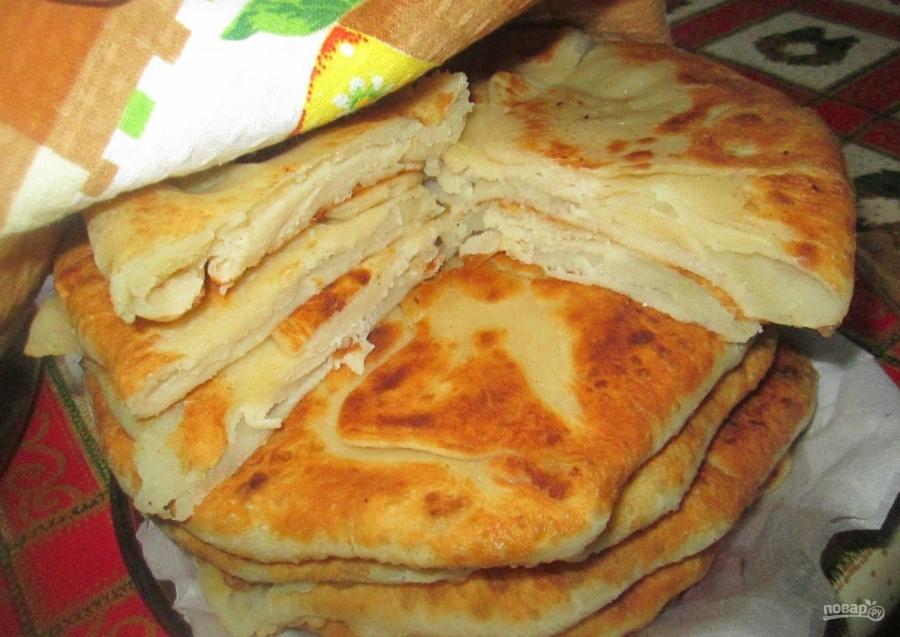 закрытый пирог с картошкой рецепт с фото