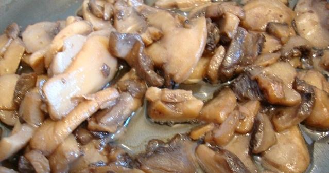 Лодочки из баклажанов с грибами - фото шаг 1