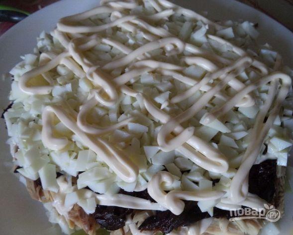 Торт графские развалины рецепт с фото пошагово с черносливом