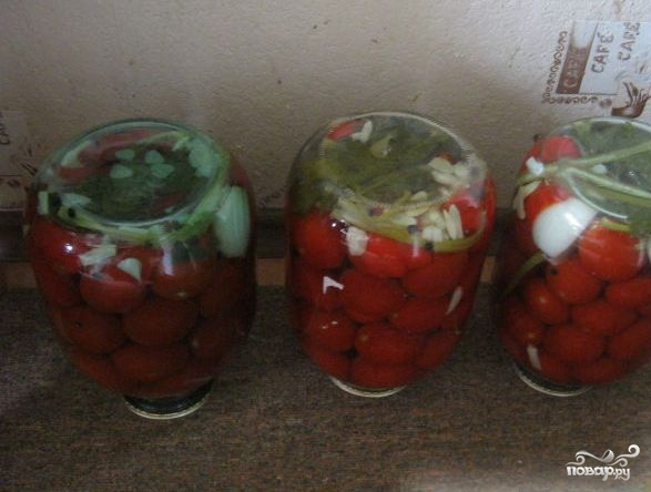 Сладкие помидоры на зиму - фото шаг 4