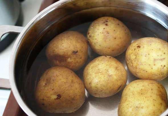 Рецепт Картофель с лимоном