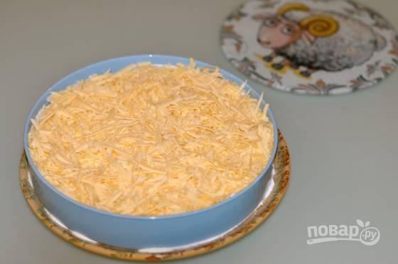 Салат нежный с ананасом и курицей - фото шаг 5