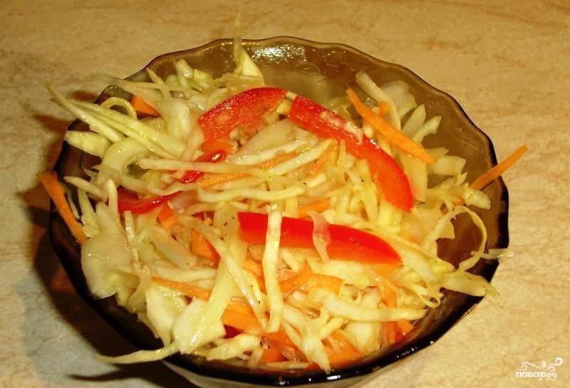 Салат из сырых овощей - фото шаг 5