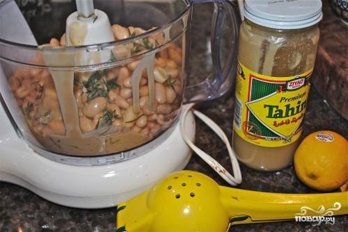 Рецепт Хумус из белой фасоли