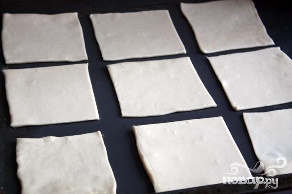 Тарталетки из слоеного теста - фото шаг 1
