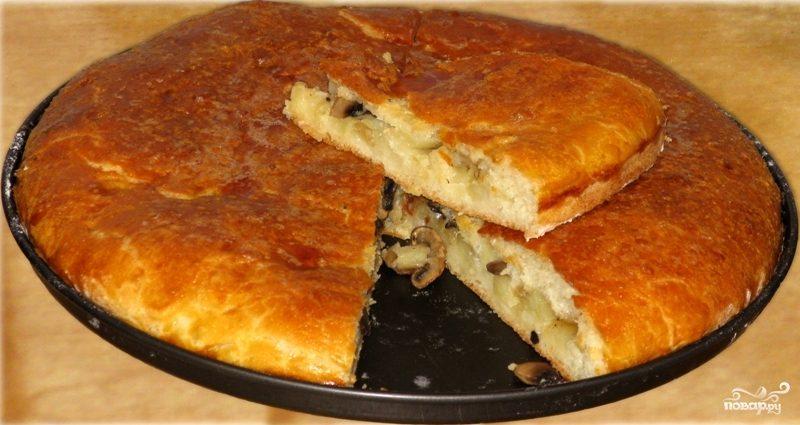 Тесто из картофельного пюре