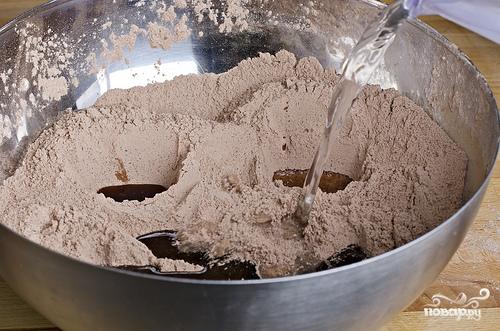 Шоколадный кекс без яиц - фото шаг 6