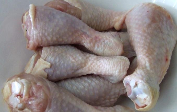 Рецепт Куриная голень в рукаве