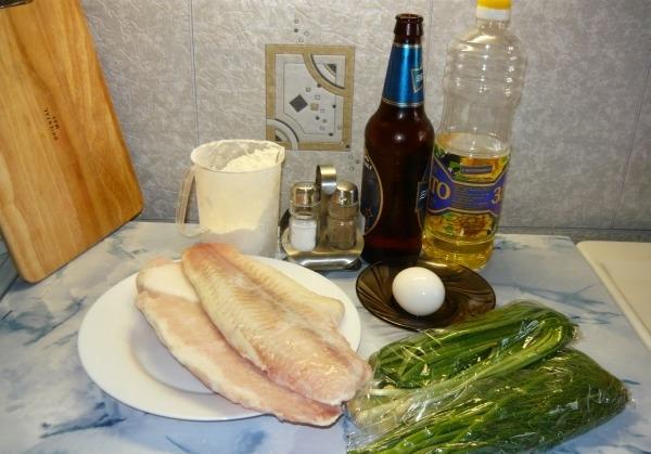 Рецепт Рыба в тесте на пиве